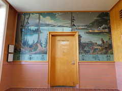 Wrangell AK Post Office Mural
