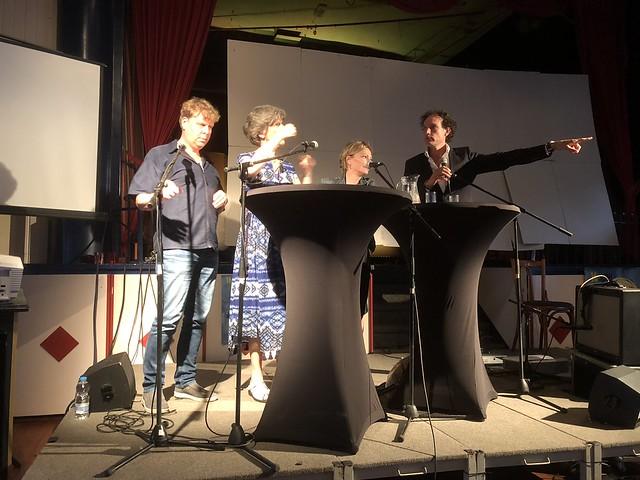Sterrenteam Joep van Ruiten, Annette Timmer, Wilma de Rek en Onno Blom