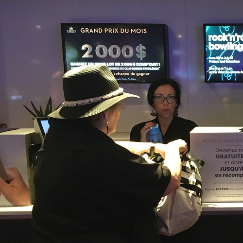 Customer Service at the Montreal Casino