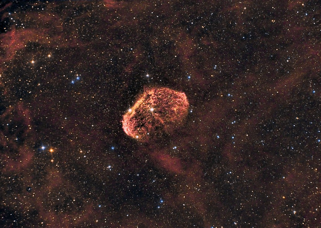Crescent Nebula - HaDSLR