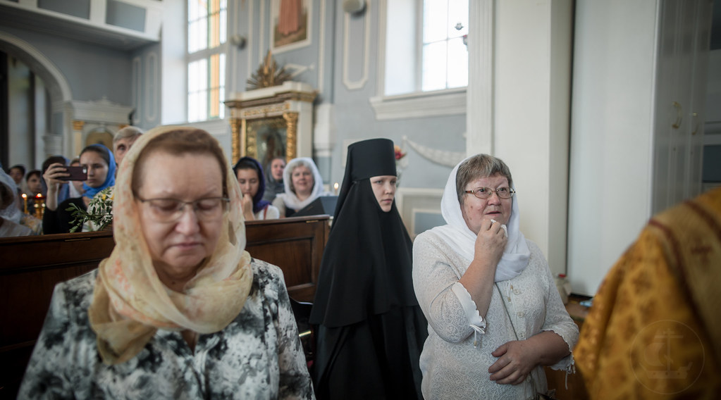 15 июля 2018, Архиепископ Амвросий Верейский совершил Божественную литургию / 15 July 2018, Archbishop Ambrose of Vereya celebrated the Divine Liturgy