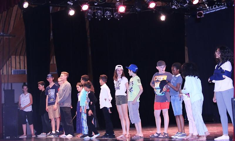 Spectacle de fin d'année 2018 du ThéâtrEcole du Théâtre des Embruns
