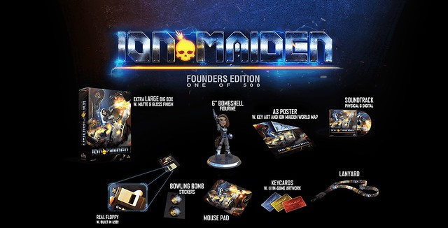 Ion Maiden Founders Edition