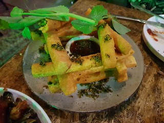 Chickpea Fries at Greenhouse South Brisbane