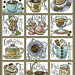 Coffee break-free cross-stitch pattern