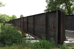 Pont en Poutre fer à Molay