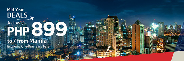 Philippine Airlines Mid-Year Deals from Manila
