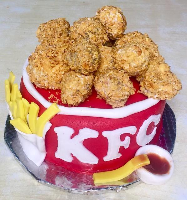 KFC Cake by Saldanha Bakery
