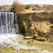First waterfall in Egypt's Wadi El Rayan protectorate