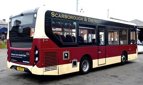 YY66 PGZ 'East Yorkshire Motor Services'  No. 509 'Scarborough and District'. Alexander Dennis Ltd. E20D / Alexander Dennis Ltd.Enviro 200 /3 on Dennis Basford's railsroadsrunways.blogspot.co.uk'