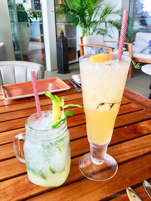 Drinks at Al Maeda Restaurant