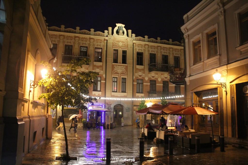 Тбилиси, заключительная - вице-проспект, воды Логидзе и просто красота