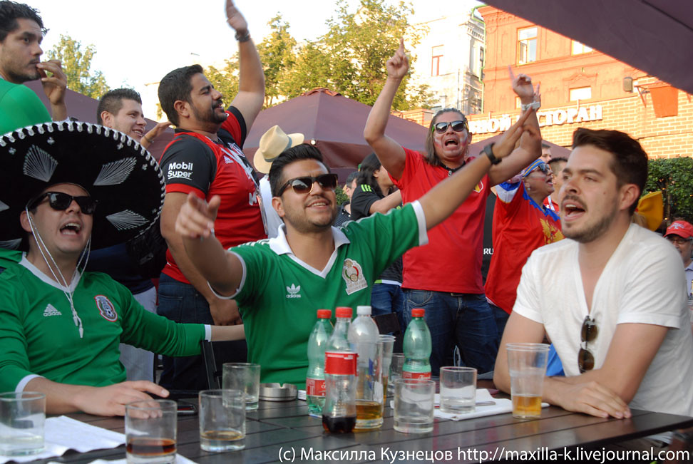 Mexicans in Moscow