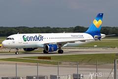 Condor A320-200 D-AICH @ MUC