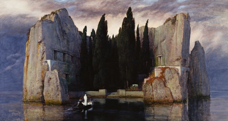 Arnold Böcklin - Die Toteninsel (1883)