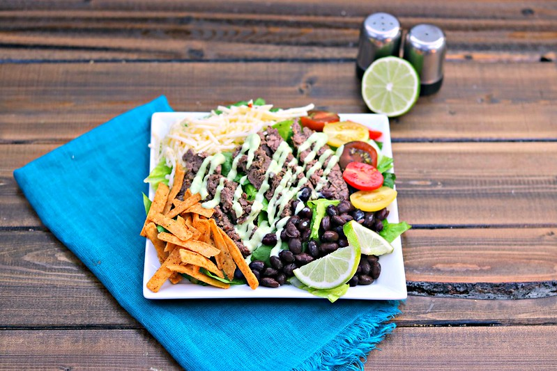 Southwest Pepper Jack Steak Salad