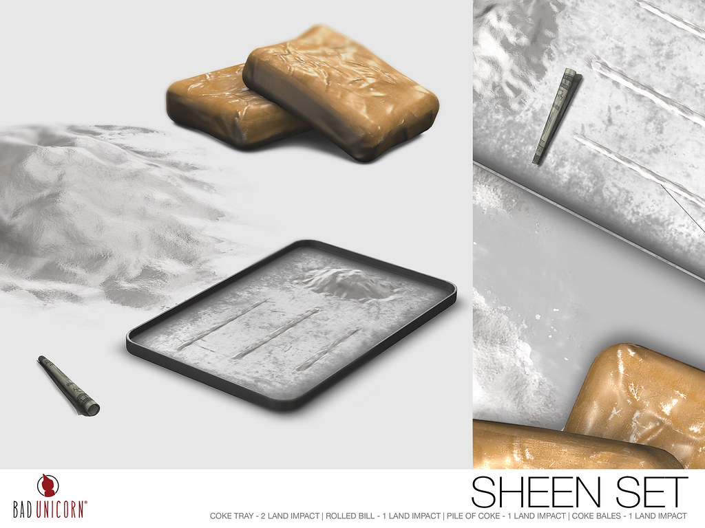 NEW! Sheen Set @ Bad Unicorn Mainstore #WMW