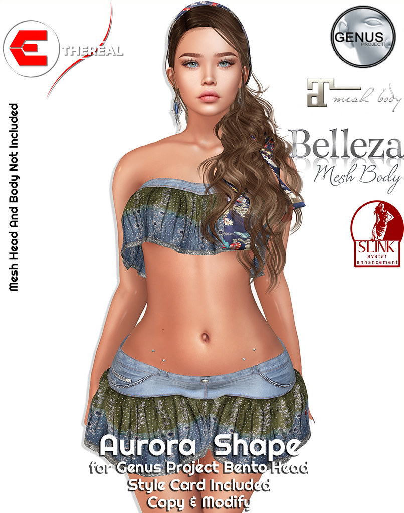 Aurora Shape – Genus Project Head