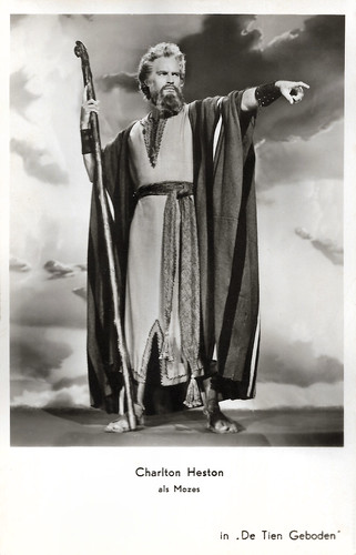Charlton Heston in The Ten Commandments (1956)
