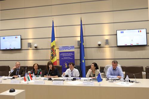 17.07.2018 Masă rotundă privind activitățile de sensibilizare în domeniul UE, organizat[ de Proiectul Twinning