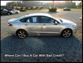 Bad Credit Where To Find A Car