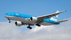 Boeing 777-206(ER) PH-BQP KLM Royal Dutch Airlines