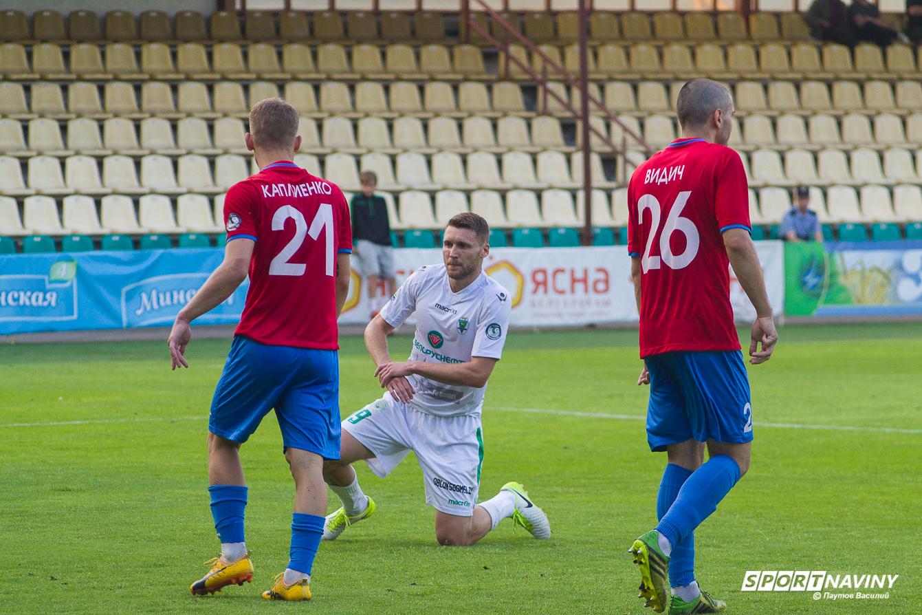 FC Gomel 0:2 FC Smolevichi. 18/06/2018