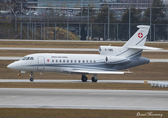 Swiss Air Force Falcon 900EX T-785