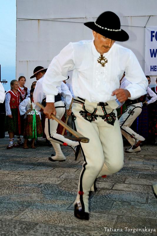 Польский мужской танец