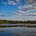 Poland Olsztyn. Lake Kortowskie.
