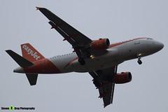 OE-LKD - 3720 - Easyjet - Airbus A319-111 - Luton M1 J10, Bedfordshire - 2018 - Steven Gray - IMG_7136