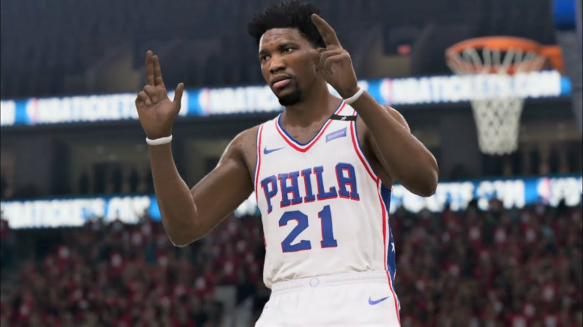 NBA Live 19 Joel Embiid trailer