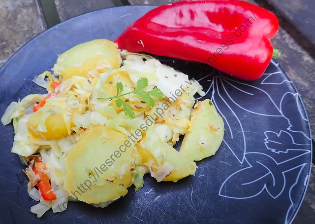 Chou Pointu à l'Indienne / Indian Way Pointed Cabbage