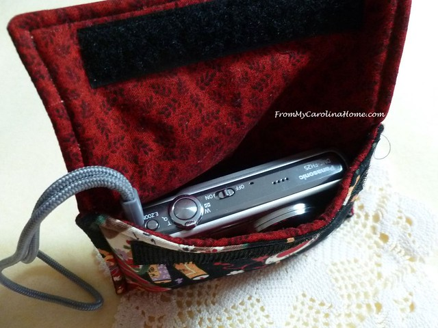 Camera Case Tutorial at From My Carolina Home