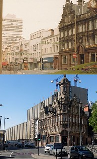 Lime Street, Liverpool 1.  1982 and 2018.