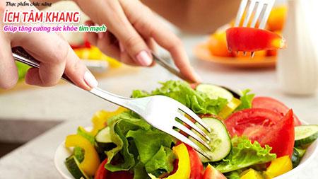 Chế độ ăn uống và lối sống lành mạnh quyết định hiệu quả điều trị bệnh thiếu máu cơ tim