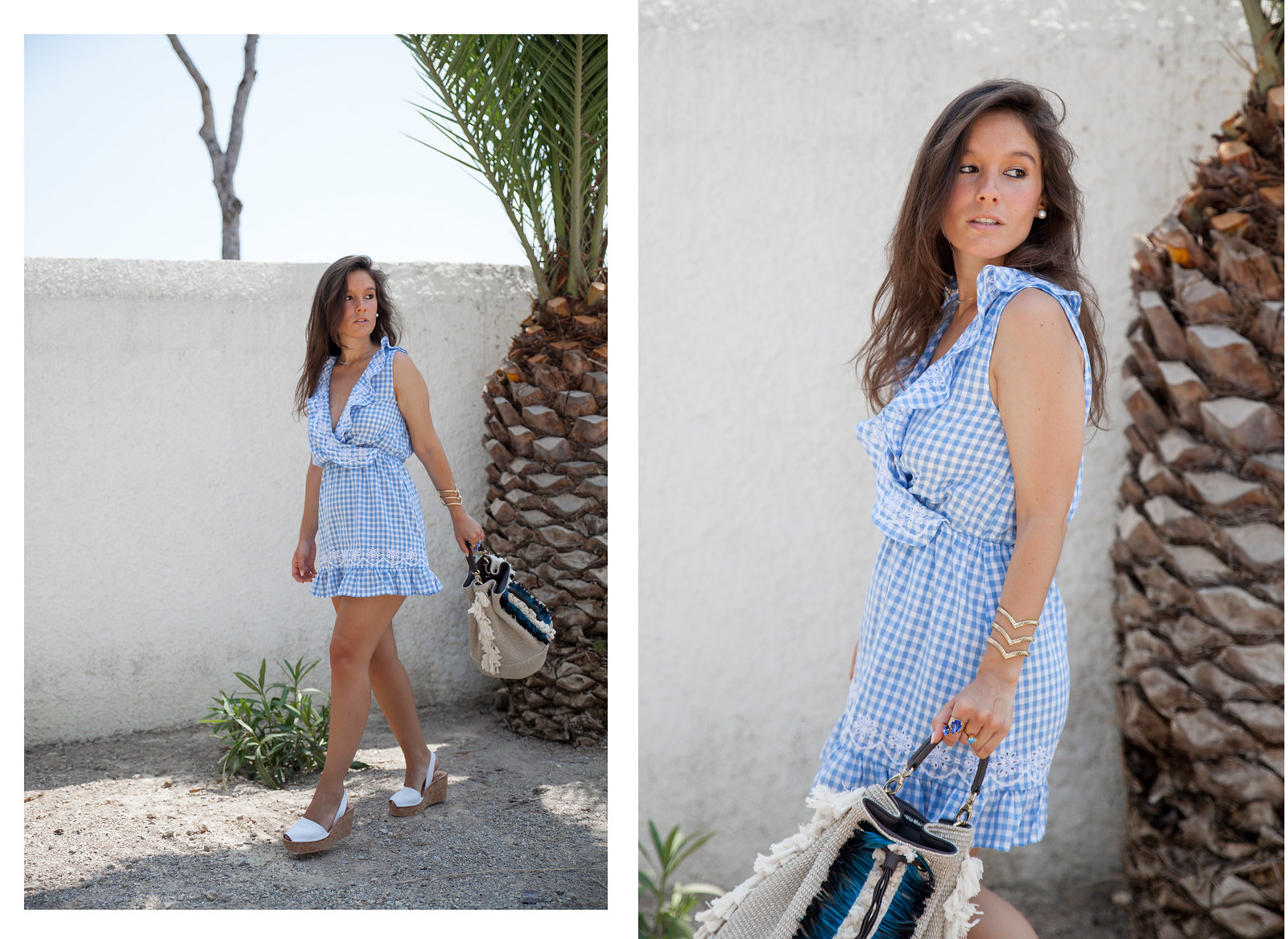 04_Revolve_dress_tularosa_gingham_style_outfit_theguestgirl_influencer_barcelona_spain_summer_look
