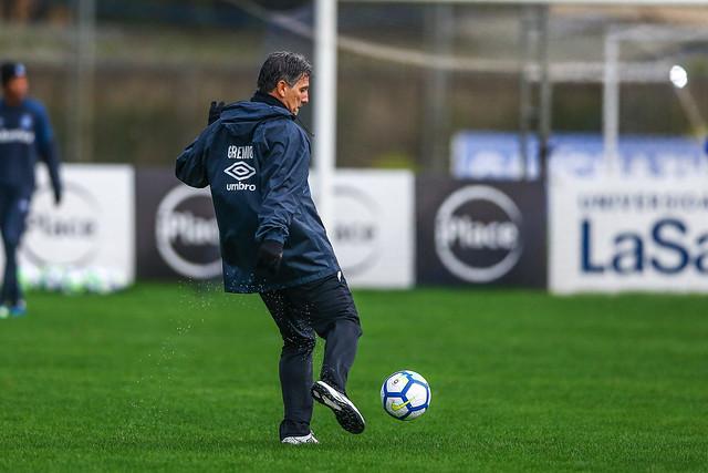Treino Grêmio 17/07/18