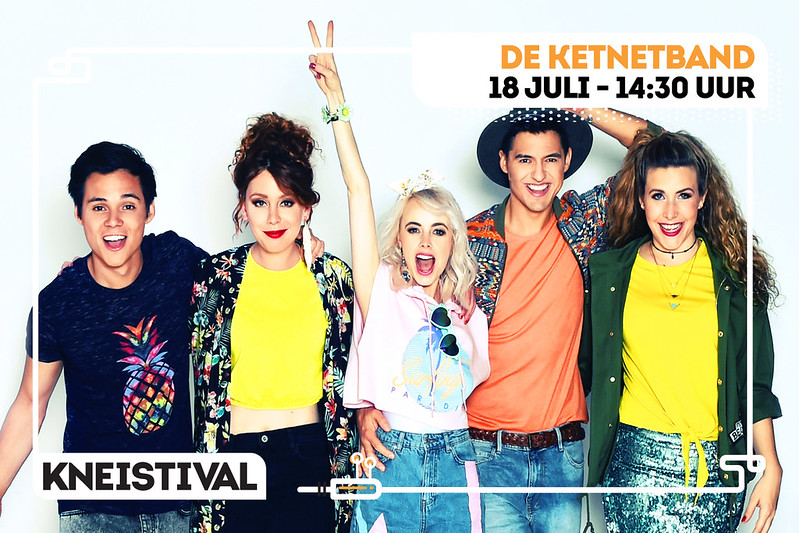 Kneistival 2018 De Ketnetband  (Heldenplein, Heist) 18/07/2018