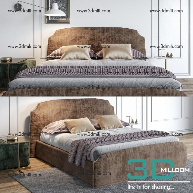 274 Bed 3d Models Free Download 3dmili 2020 Download 3d Model Free 3d Models 3d Model Download