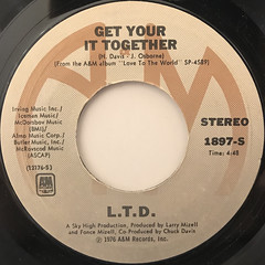 L.T.D.:LOVE TO THE WORLD(LABEL SIDE-B)
