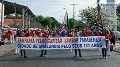Desfile de Aniversário da Analândia, 121 anos.