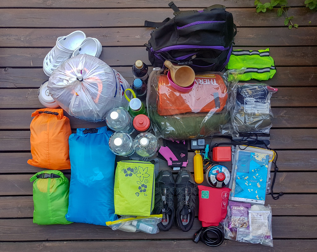 What to pack for an overnight kayaking trip and how to pack them