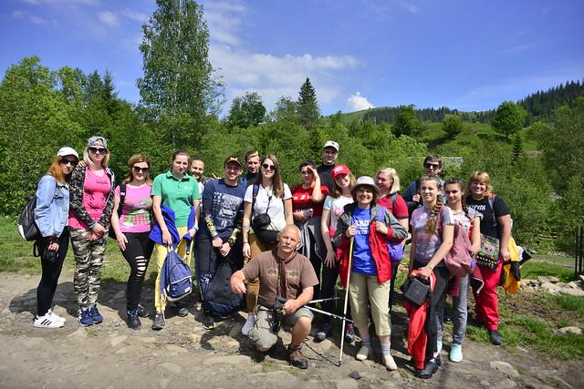 Туризм: Цілюща сила Карпат - 2018 / Похід до Дзембронських водоспадів / 25.05 - 26.05.2018