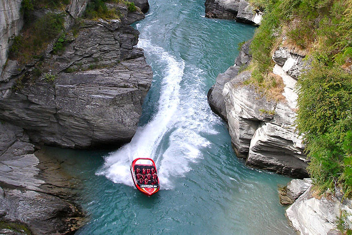 Shotover Jetboot im Shotover River