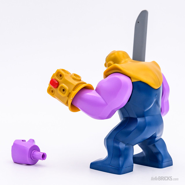 REVIEW LEGO Marvel 76107 Thanos Ultimate Battle 02