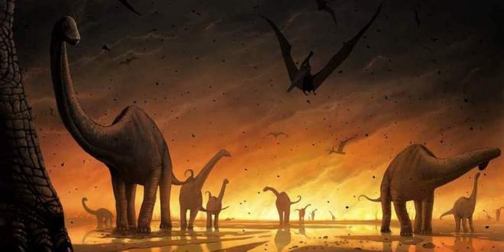 L'astéroïde tueurs des dinosaures aurait réchauffé la Terre pendant 100 000 ans