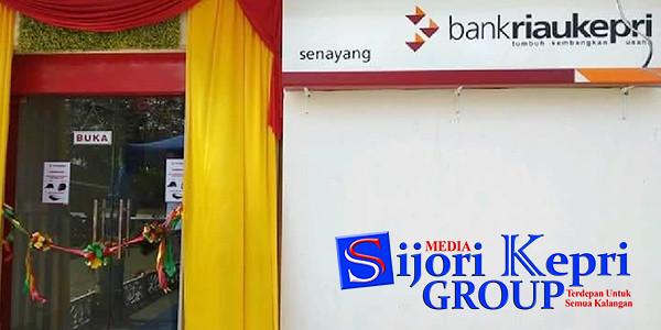 Kantor Bank Riau Kepri di Pulau Senayang