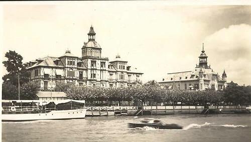 Comparación de fotos antiguas y modernas de Tigre