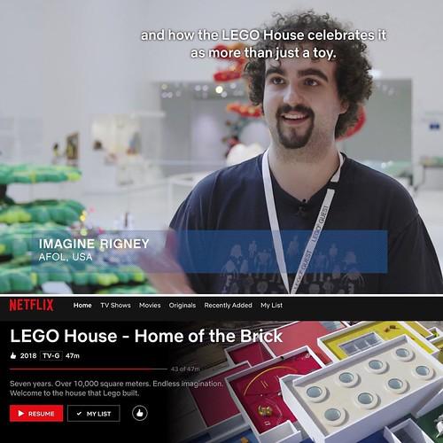 LEGO House - Home of the Brick Film Cameo